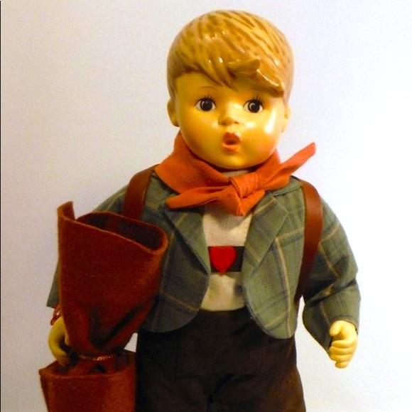 "Hummel ""Little Scholar"" Porcelain Doll"